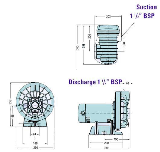 STA-RITE 5P2R product dimensions