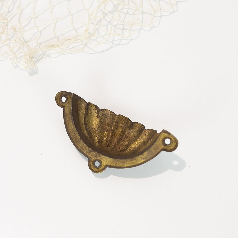 Clam Shell Drawer Pull #0015