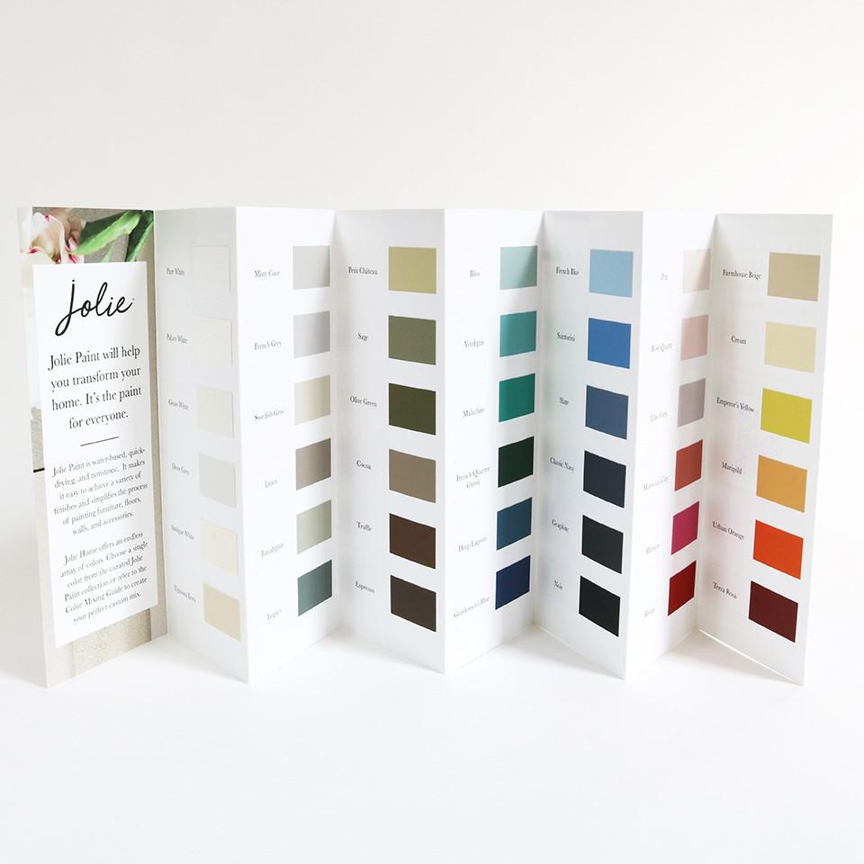 3. Jolie Colour Card
