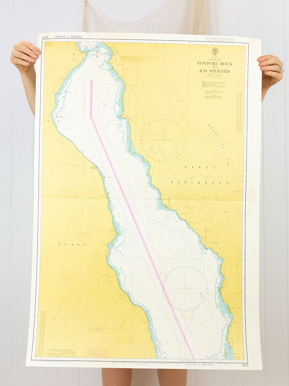 Red Sea - New Port Rock - Chart/Map
