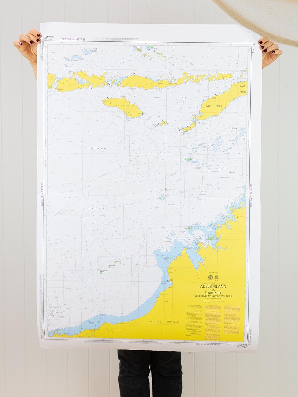 WA - Adele Island to Dampier Chart/Map