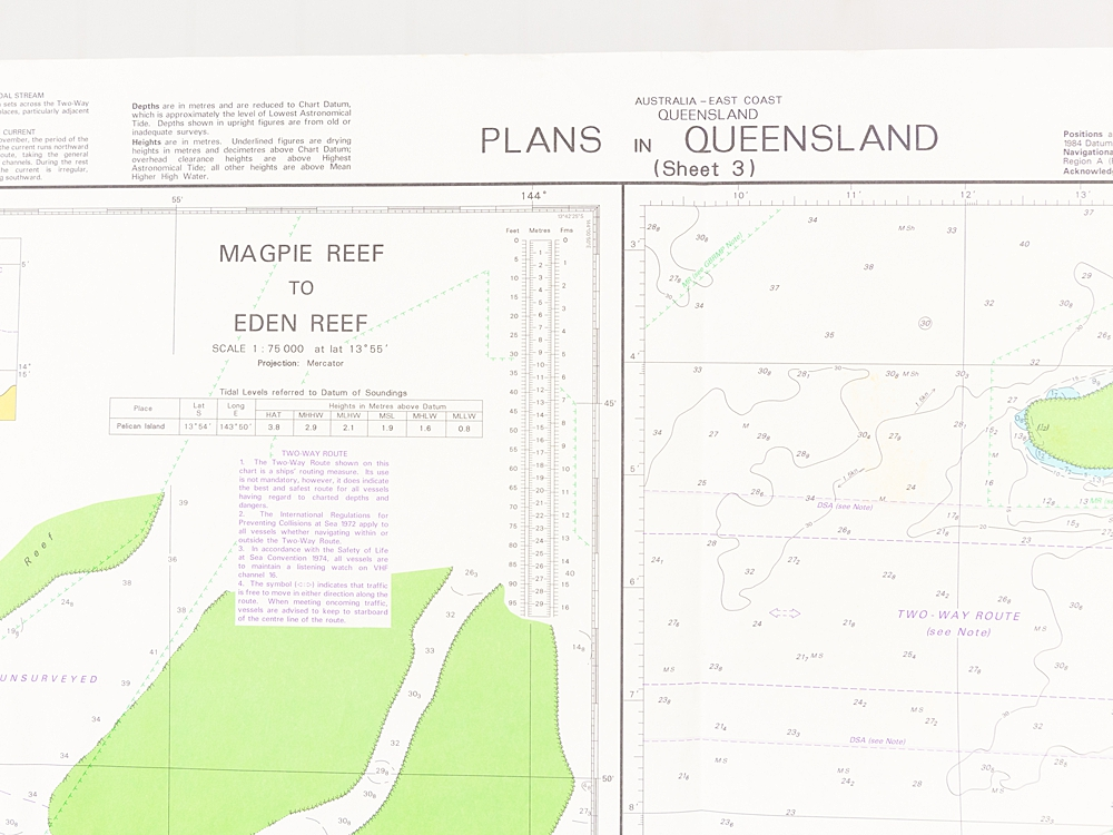 QLD - Plans in Queensland Sheet 3 Chart/Map