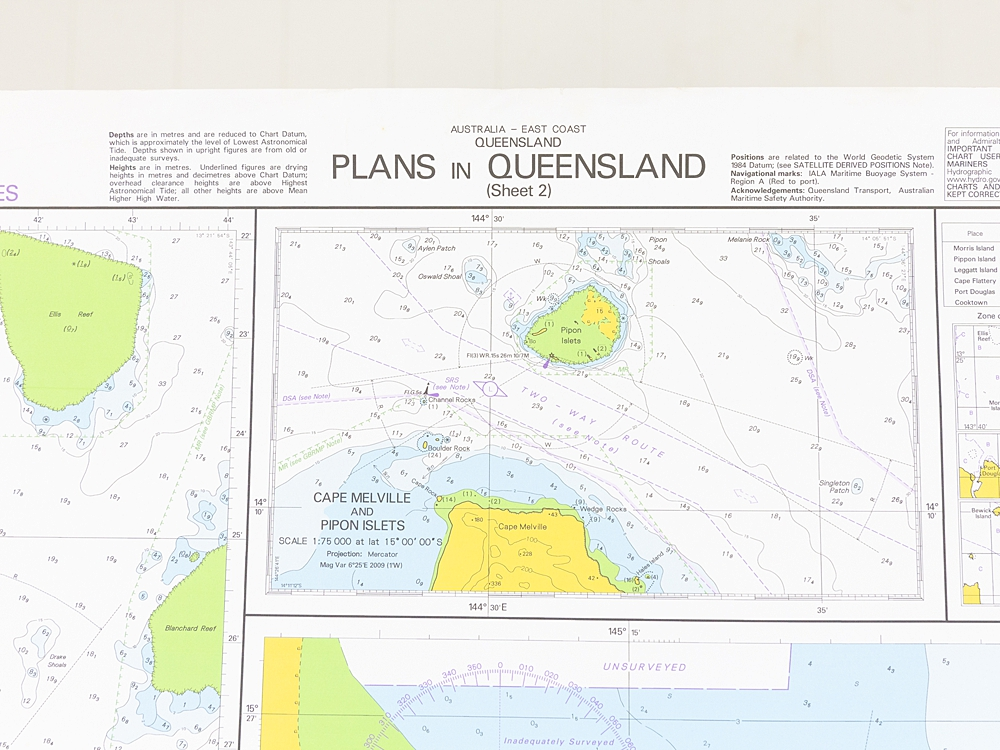 QLD - Plans in Queensland Sheet 2 Chart/Map