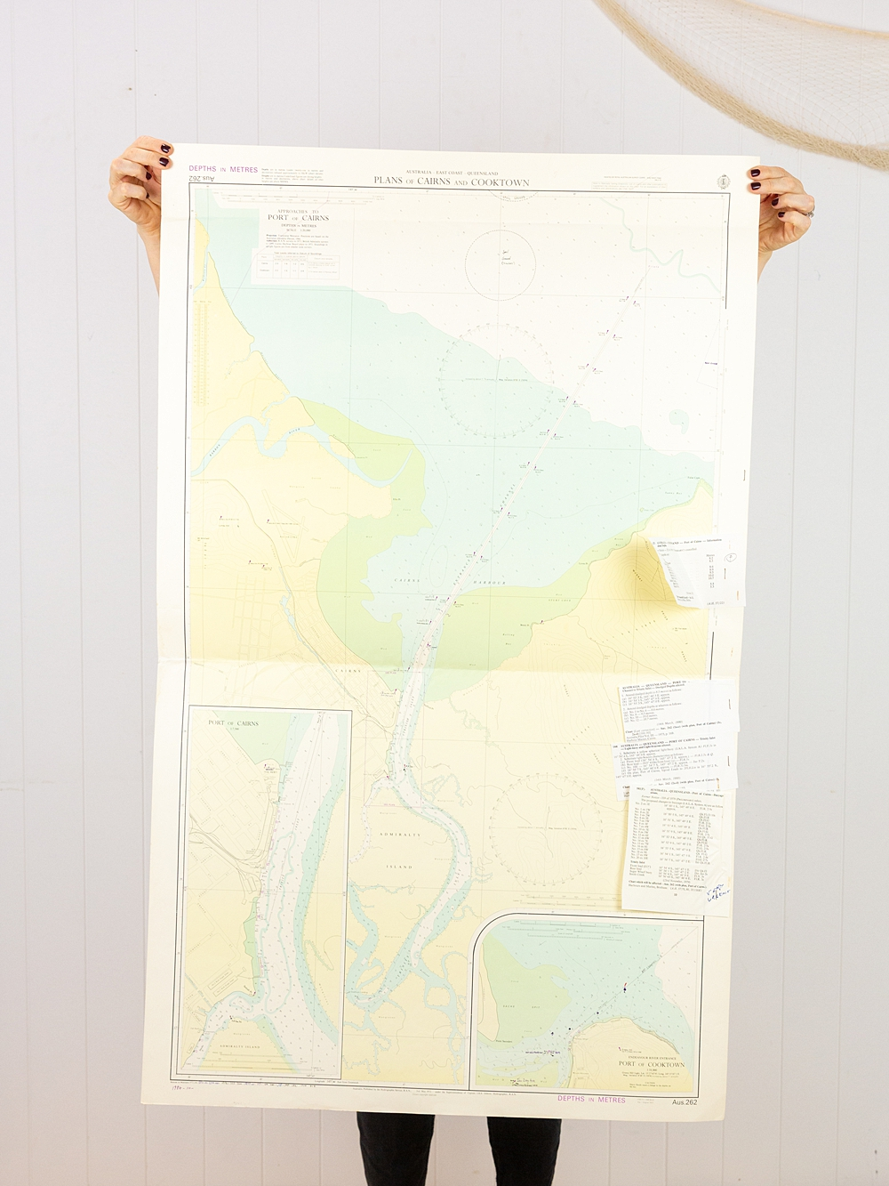 QLD - Plans of Cairns & Cooktown Chart/Map