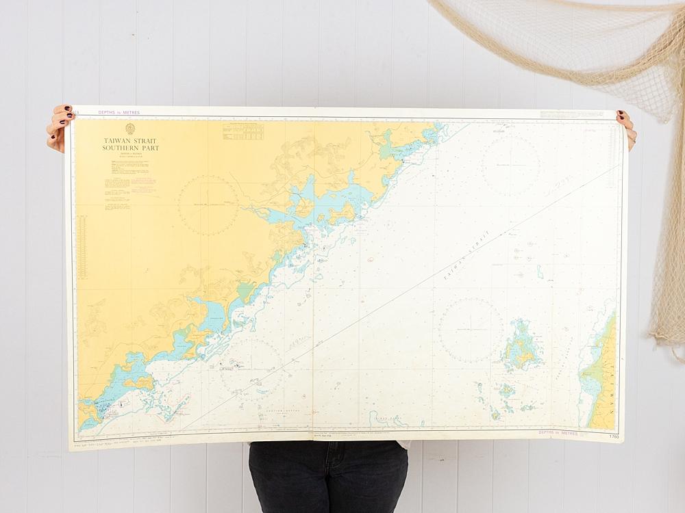Taiwan Strait Chart/Map