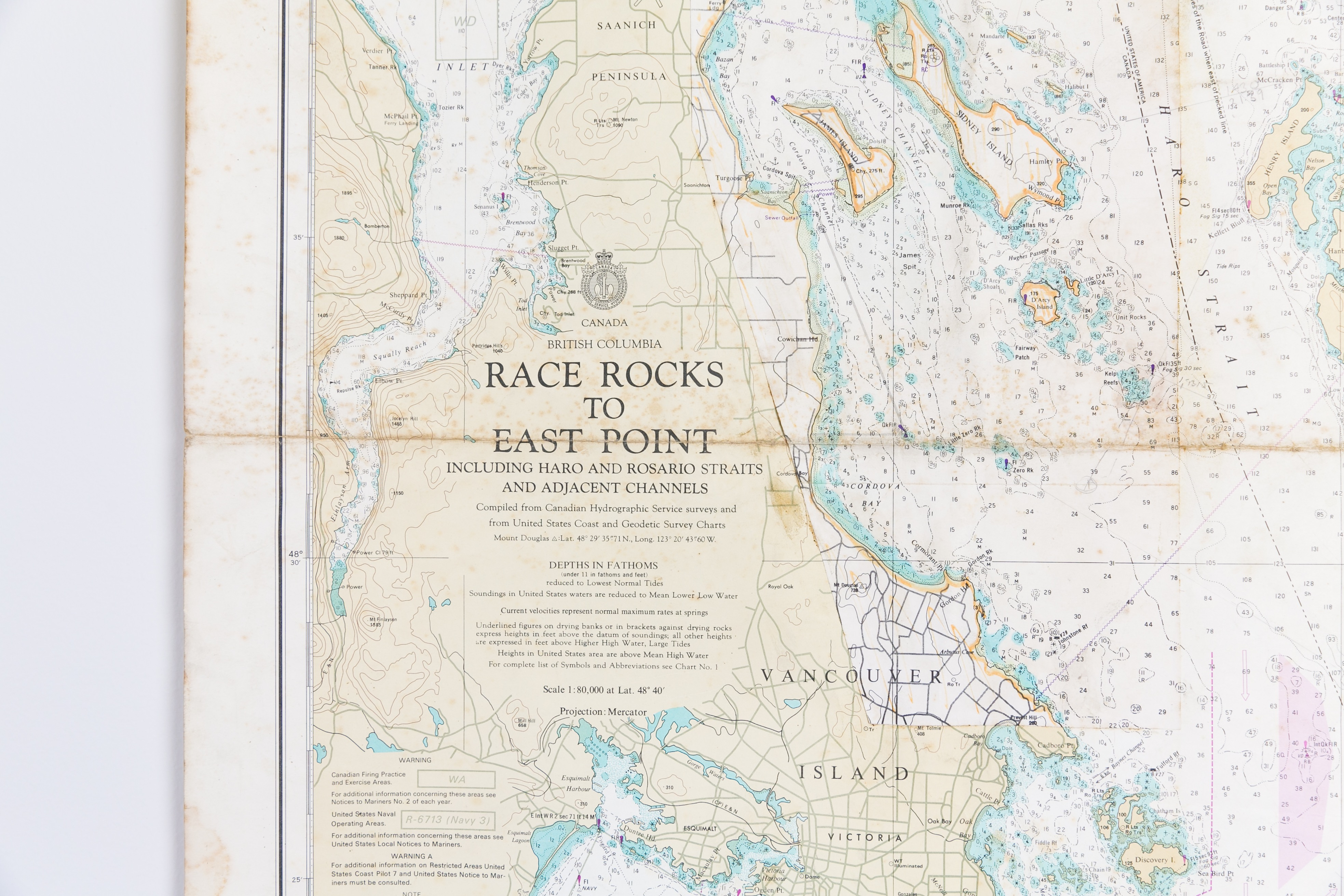 Canada -Race Rocks to East Point Chart/Map