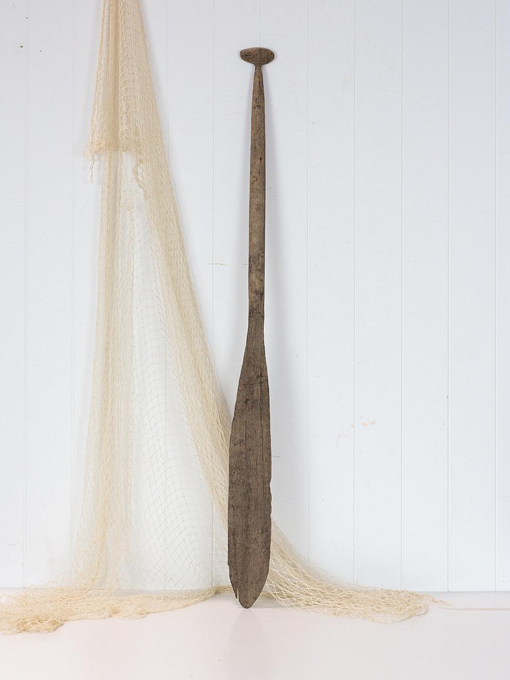 Antique Canoe Paddle #2426