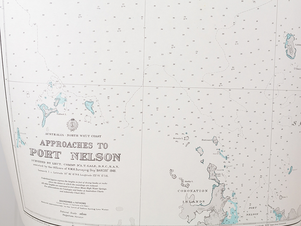 WA - Port Nelson and Approaches Chart/Map