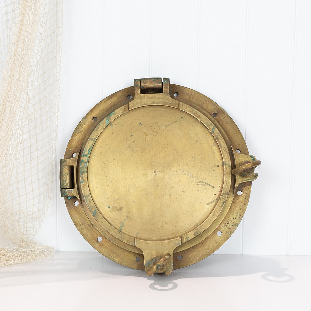 Brass Porthole with Cover  #7170
