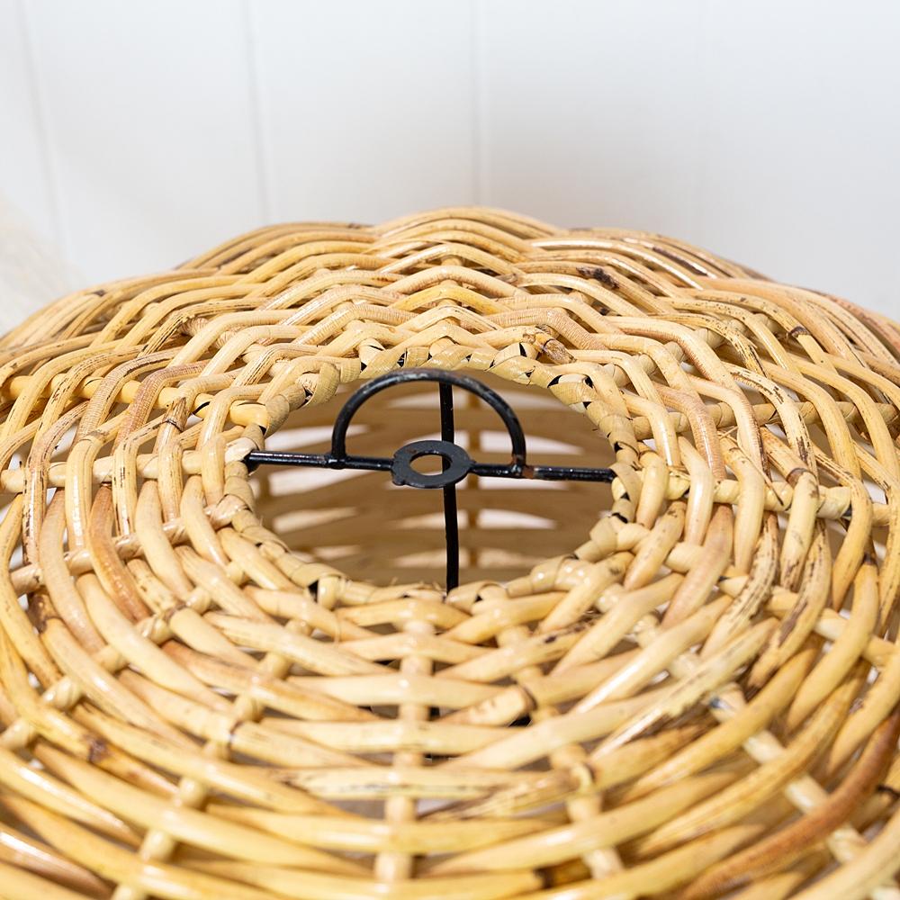 Dome Thick Cane Light Shade 45cm