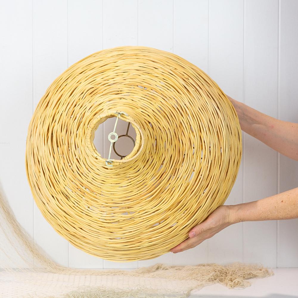 Wicker Cane Light Shade  45cm