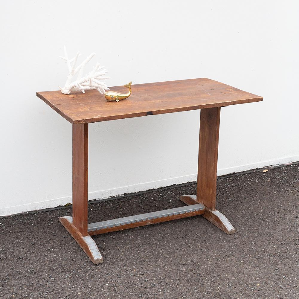 Zinc Foot Bistro Table #4242