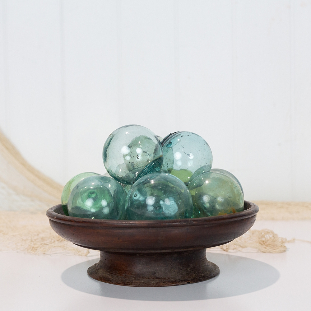5 x Glass Floats  Small