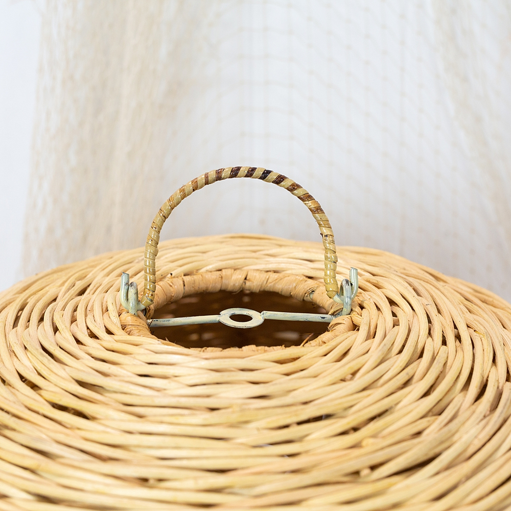 Wicker Cane Shade - S