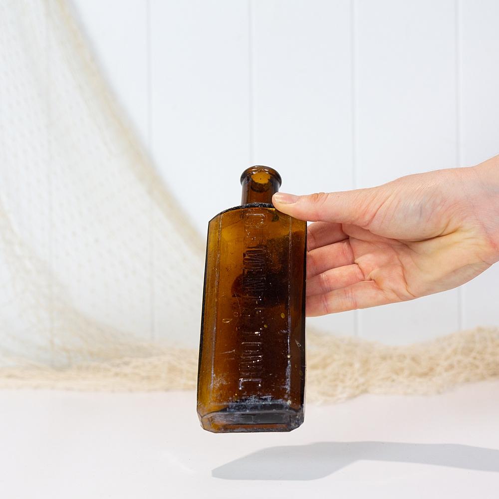 Amber Bottle  #5583
