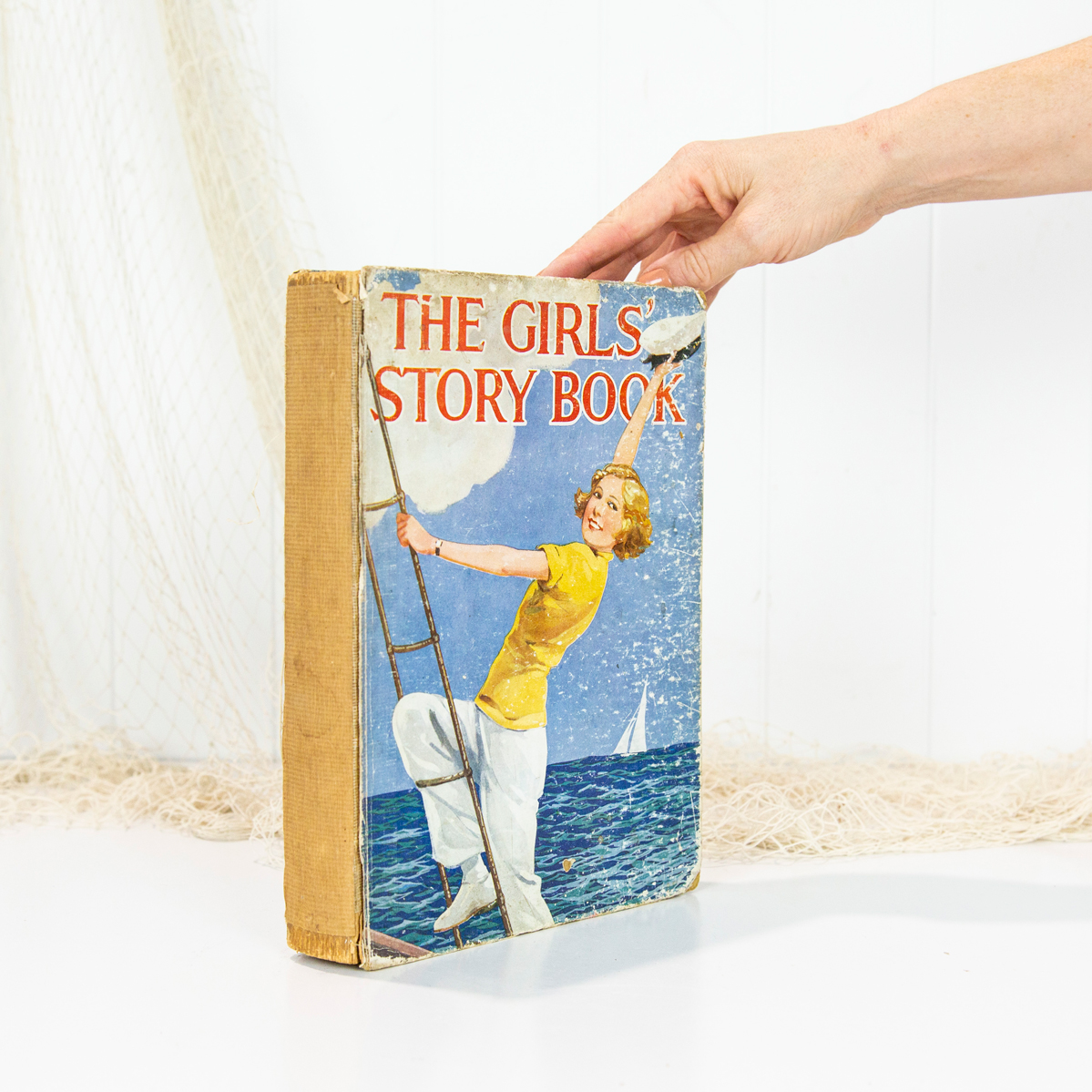 Vintage Book-The Girls' Story Book  #5695