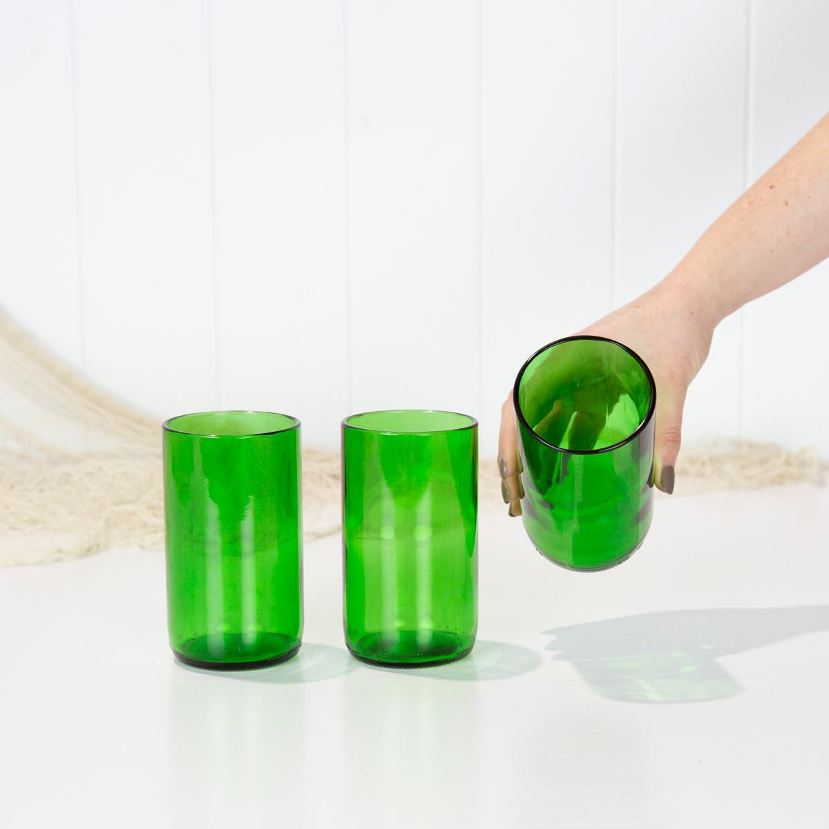 BSM Glasses - Green Tall