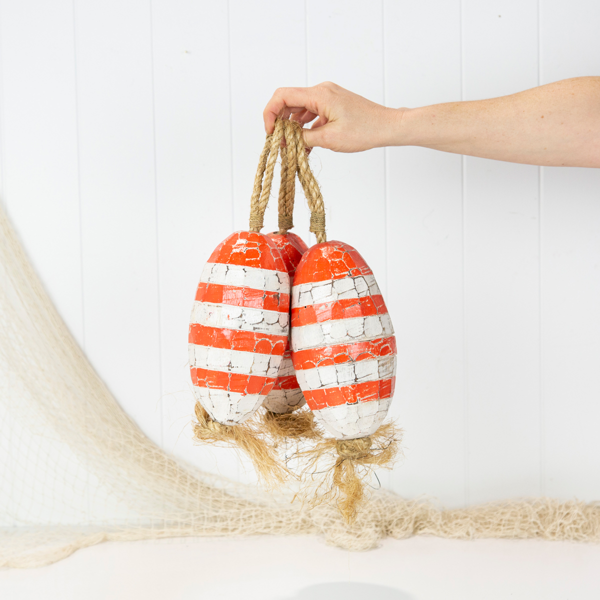 Oval Buoy - Coral