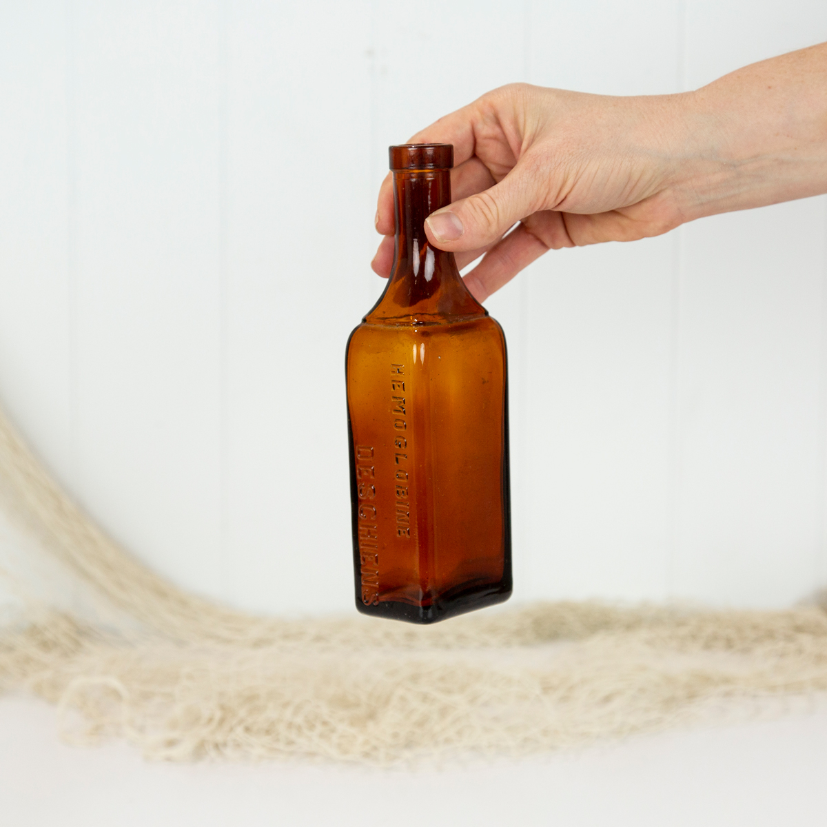 Vintage Bottle-Deschiens  #6356