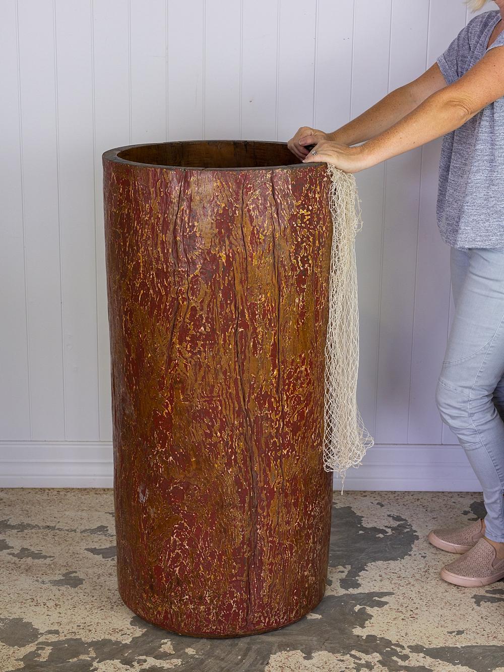 Wooden Drum Stand #3169