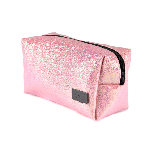 CANDY PINK MAKE-UP BAG FOR COSMETICS VEGAN AND CRUELTY FREE