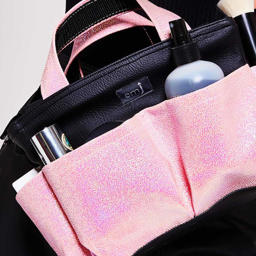 CANDY PINK ON SET BAG FOR MAKE-UP ARTISTS AND HAIR STYLISTS