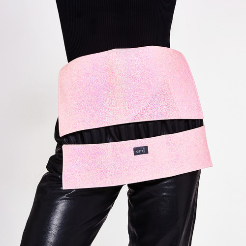 CANDY PINK BRUSH BELT FOR MAKE-UP ARTISTS