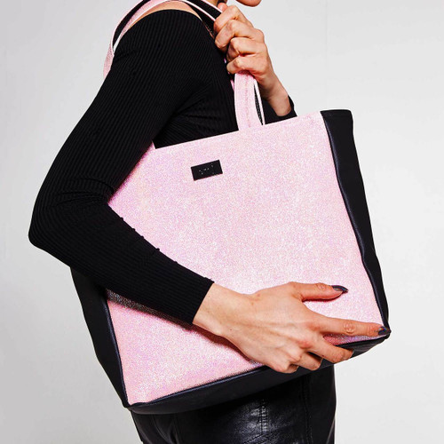 Candy Pink Tote bag vegan friendly