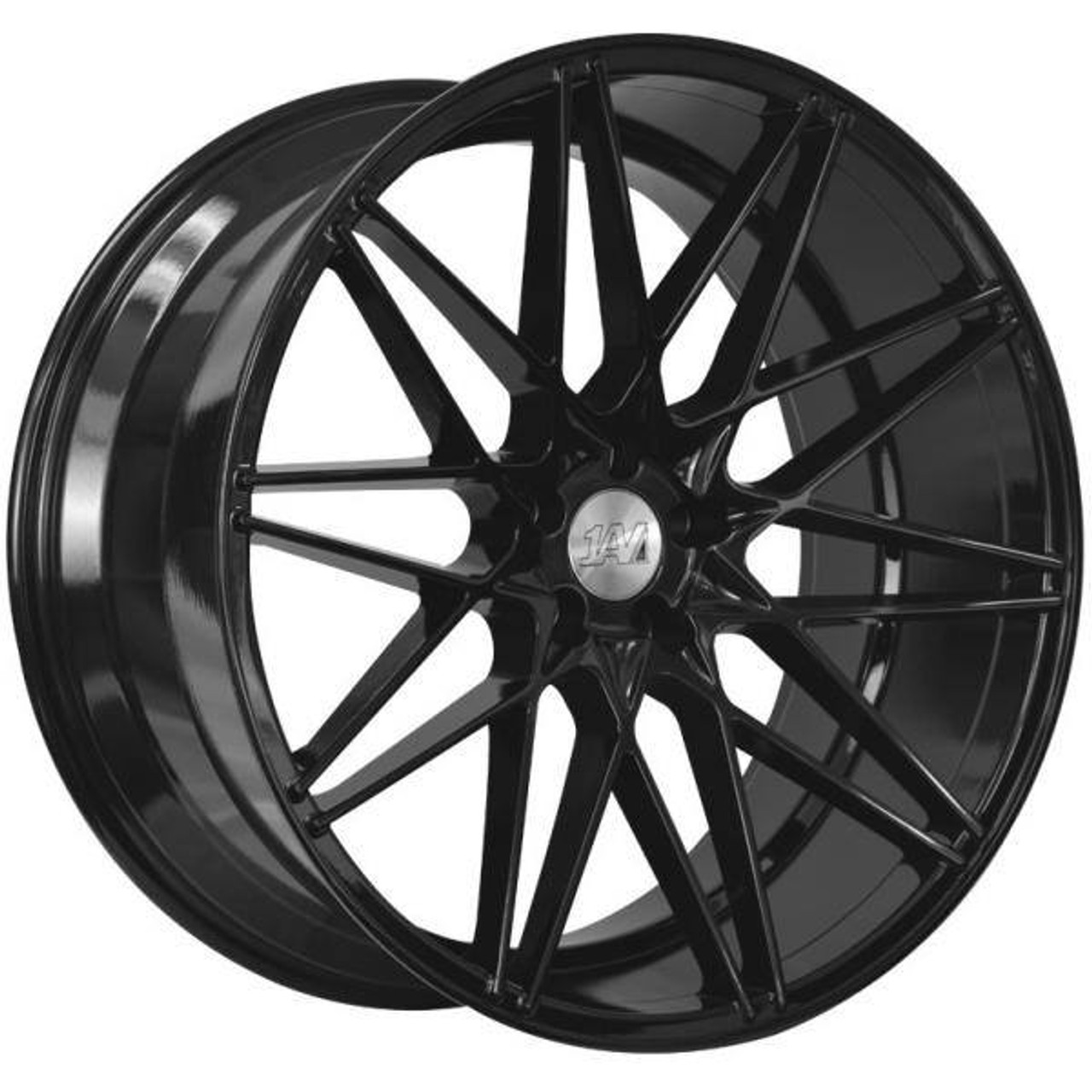 1AV 1AV ZX4 Alloy Wheels Gloss Black