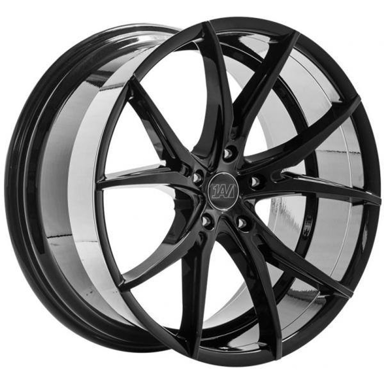 1AV ZX5 Alloy Wheels Gloss Black