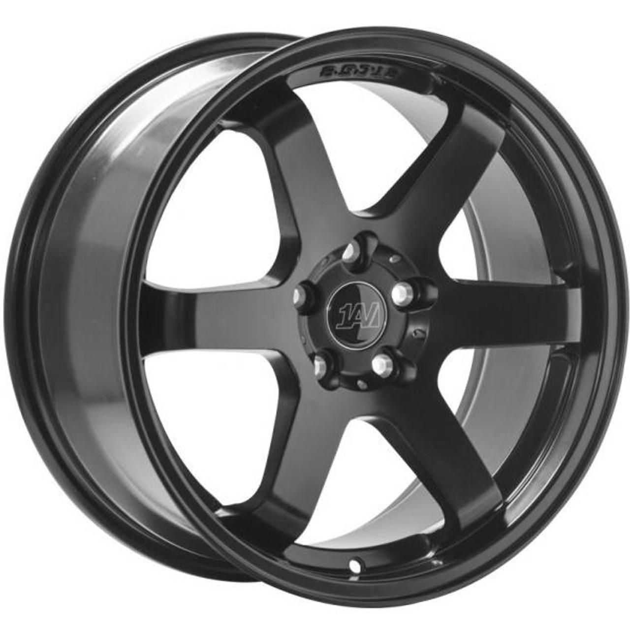 1AV ZX6 Alloy Wheels SATIN BLACK