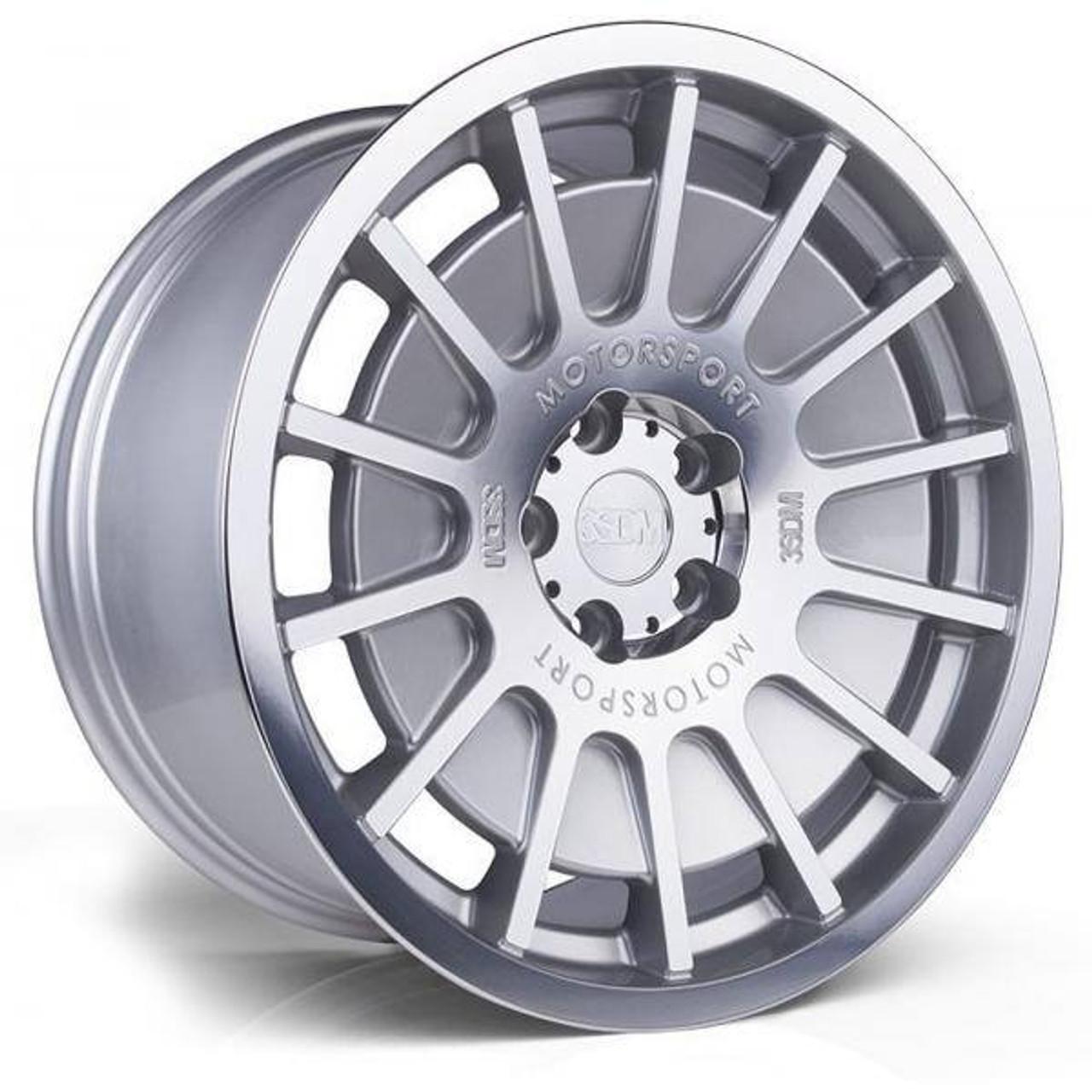 3SDM 0.66 Alloy Wheels Silver / Mirror Polished Face