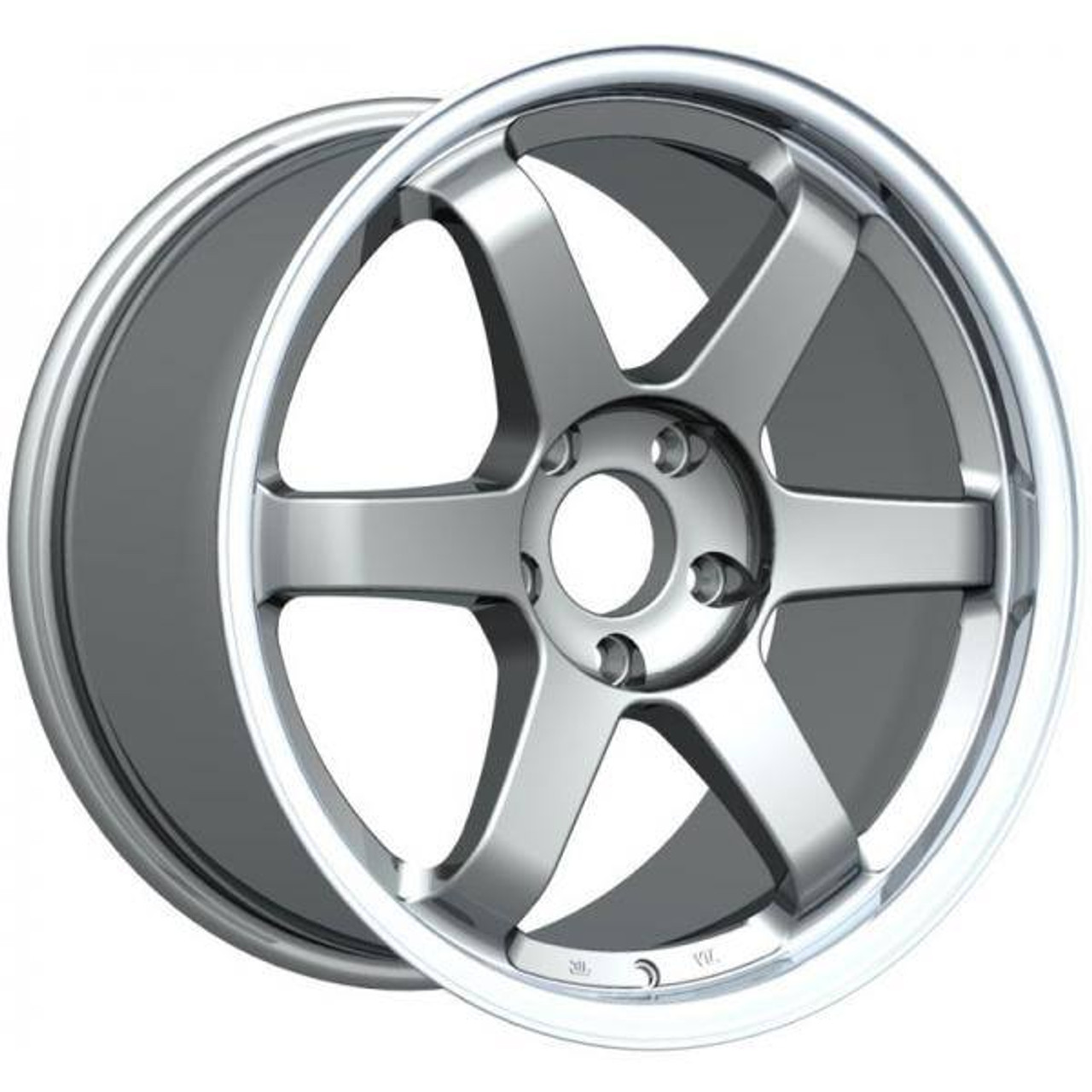 Inovit ST16 Alloy Wheels Gunmetal Machined Lip