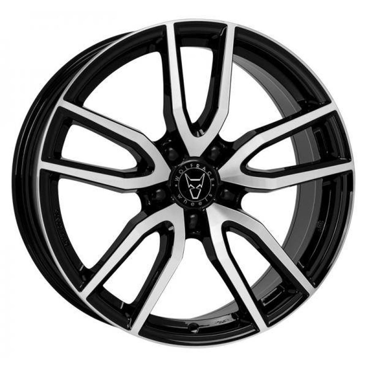 Wolfrace GB Torino Alloy Wheels Gloss Black / Polished