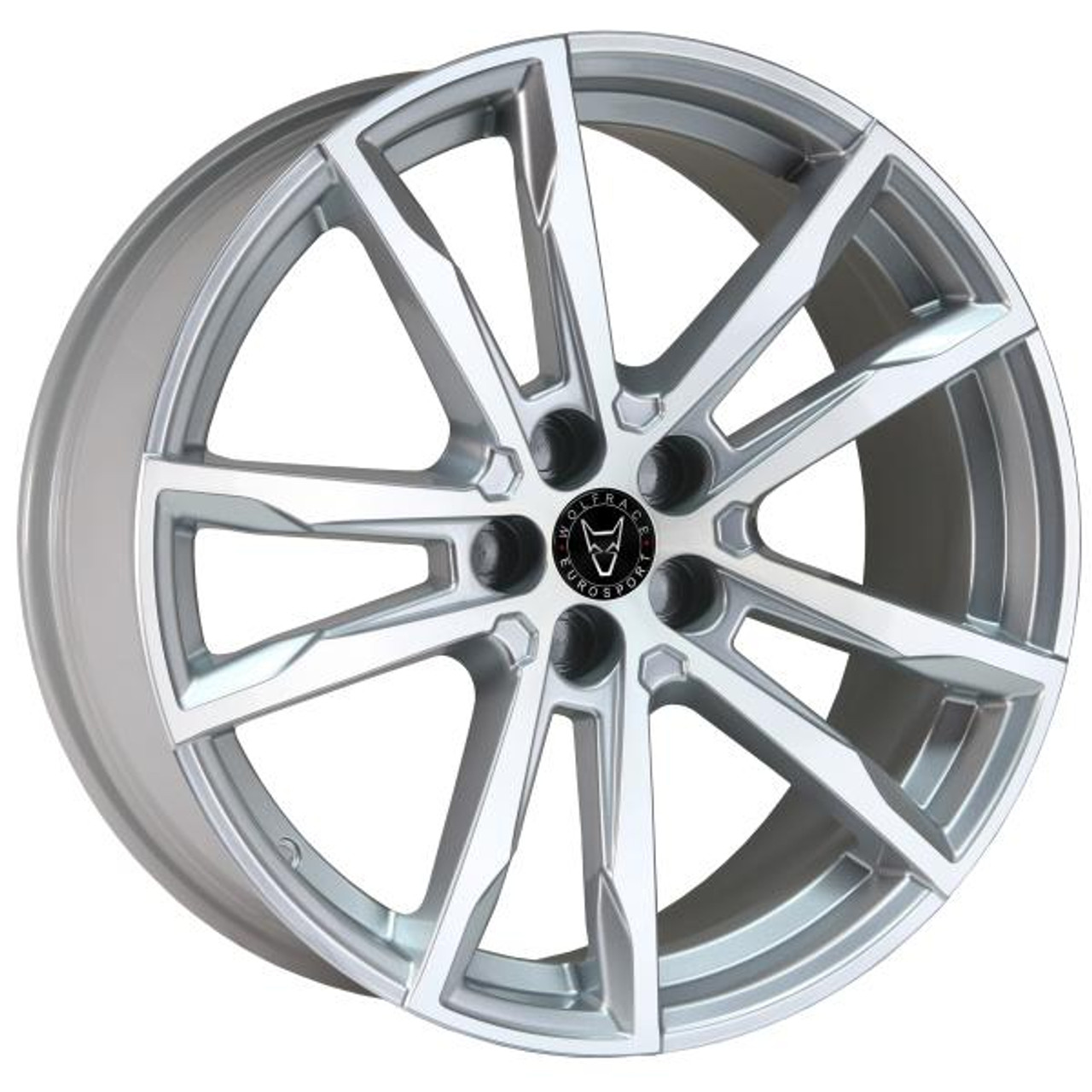 Wolfrace Eurosport Dortmund Alloy Wheels Silver / Polished
