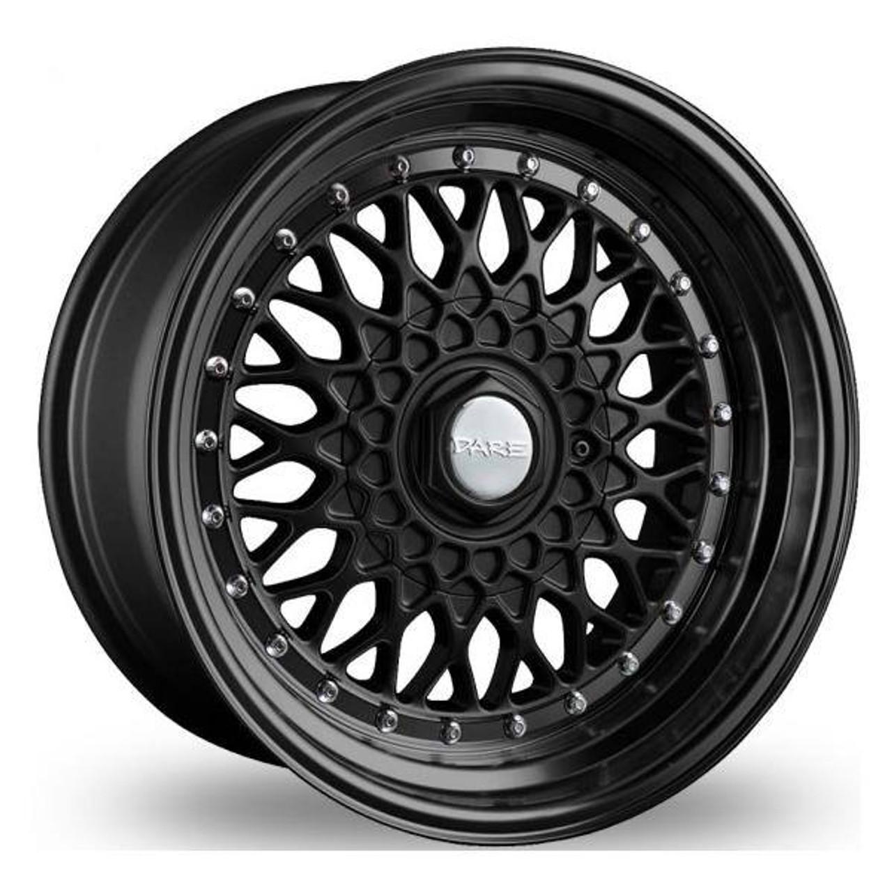 Dare DR RS Alloy Wheels Matt Black