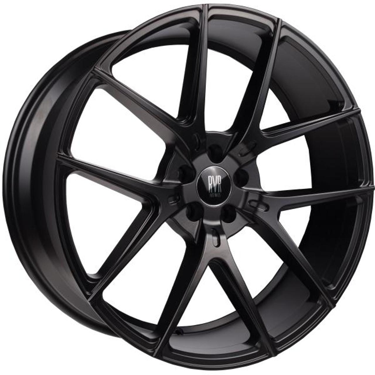 River R9 Alloy Wheels Matt Black