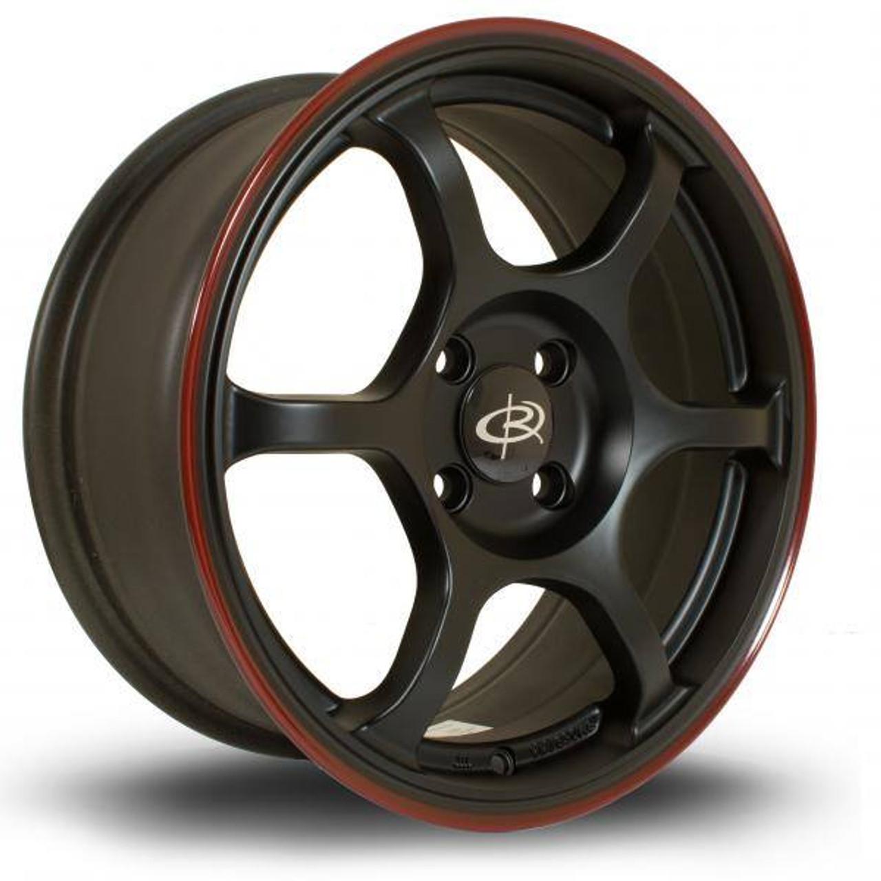 Rota Boost Alloy Wheels Blackrlip