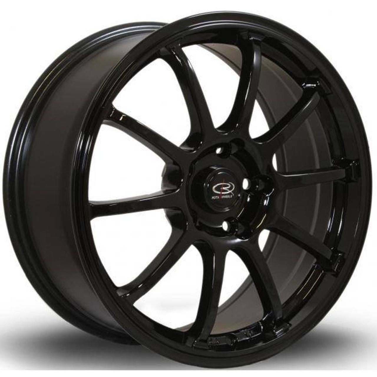 Rota Force Alloy Wheels Black