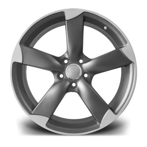 "19""matt gm rotor Alloy Wheels fits Audi A5/A8/a4/a6/Vw passat/Skoda/seat"