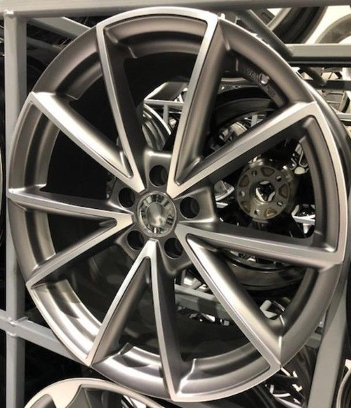 "19""new rs4 c alloy wheels audi/passat/skoda/sharan/seat/a4/a6/a5 with tyres"