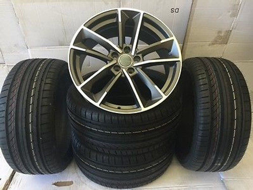 """19""""d7gmp alloy wheels vw golf audi/vw/tt/t4/a4/a3/a6/skoda/seat/ with tyres"""