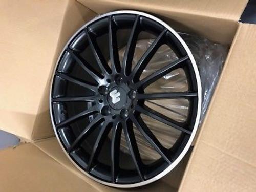 "19""multi black audi Mercedes Benz c/e/s class c63 Alloy Wheels Wider Rear"