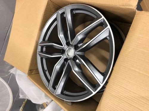 "17""rs6 c gm alloy wheels audi/vw/tt/t4/a4/a3/a6/skoda/seat/golf"