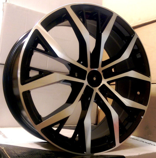 "17""santiago alloy wheels vw golf audi/vw/tt/t4/a4/a3/a6/skoda"