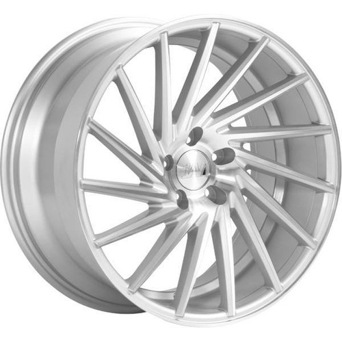1AV ZX1 Alloy Wheels Silver/Polished Face