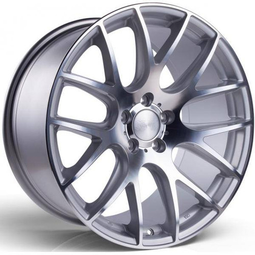 3SDM 0.01 Alloy Wheels Silver / Polished Face