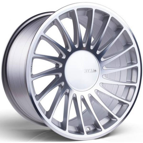 3SDM 0.04 Alloy Wheels Silver / Polished Face