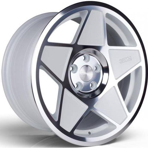 3SDM 0.05 Alloy Wheels White / Polished Face
