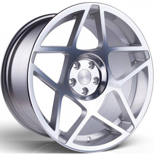 3SDM 0.08 Alloy Wheels Silver / Polished Face
